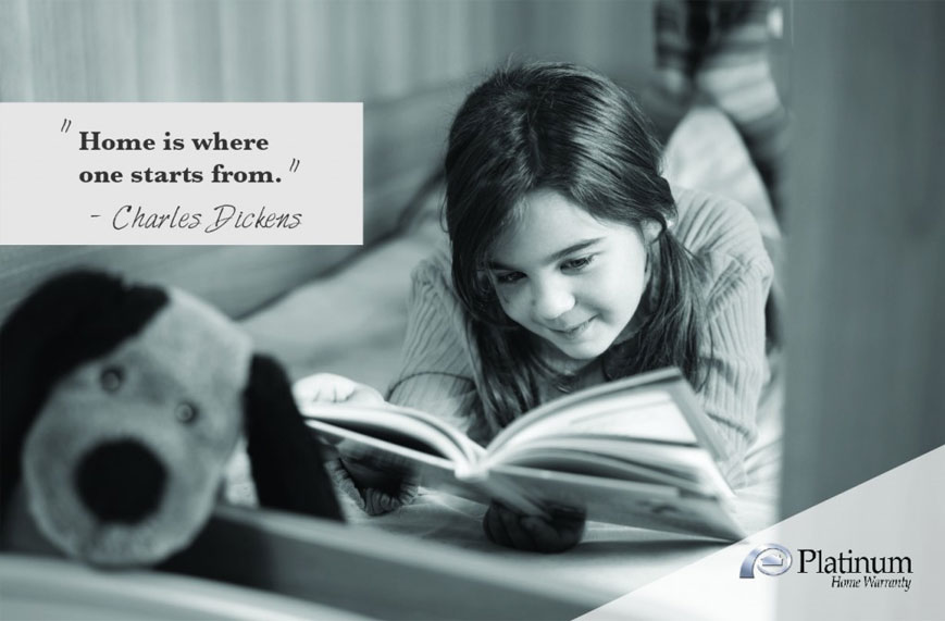 Home is where one starts from. – Charles Dickens